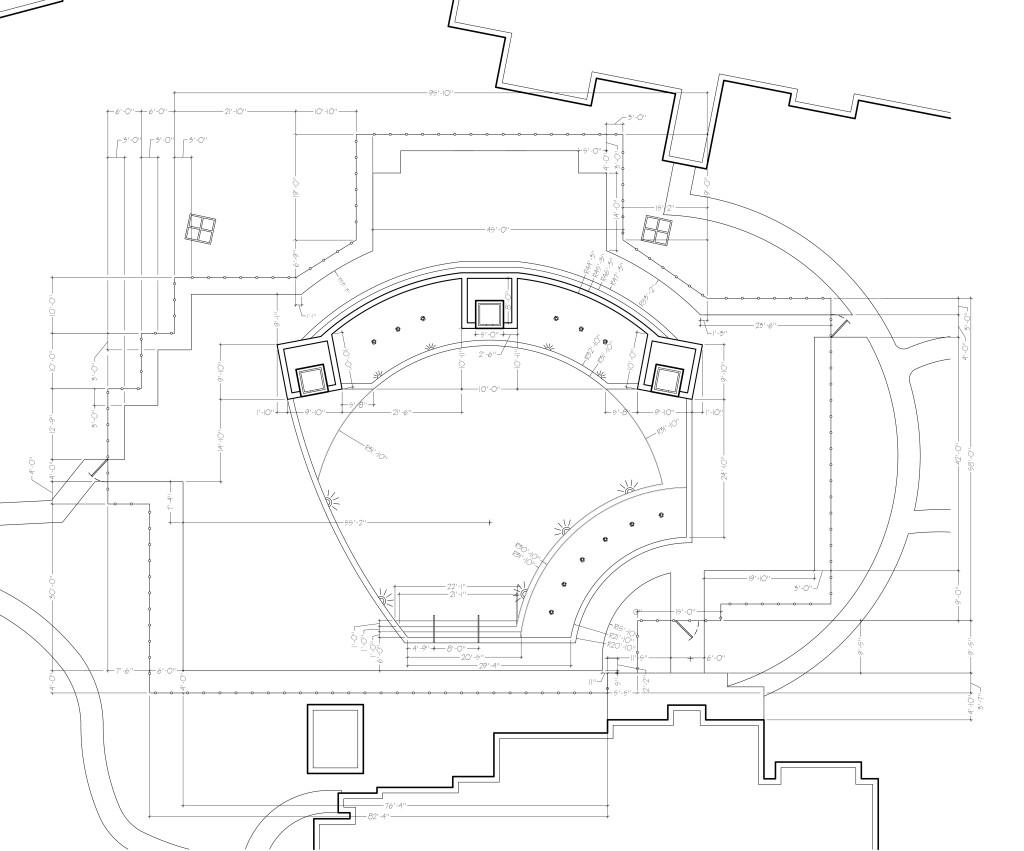 Easy Landscape Plan - Dimensioned Plan